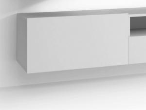 Nástenná skrínka Enjoy, biela, 60 cm