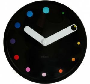 Nástenné hodiny 5380BK Karlsson 30cm