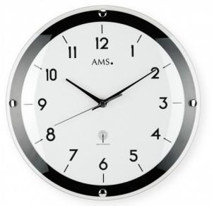 Nástenné hodiny 5906 AMS riadené rádiovým signálom 31cm