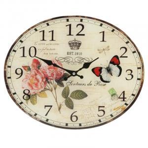 Nástenné hodiny Clayre & EEF, 6kl0256, 39x32cm