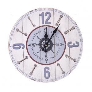 Nástenné hodiny drevo