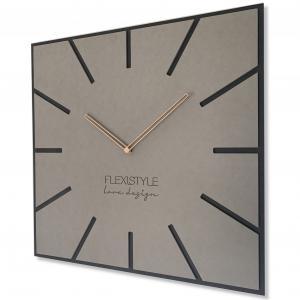 Nástenné hodiny Eko Exact, FLEX z119 1 amat1-dx, 50cm