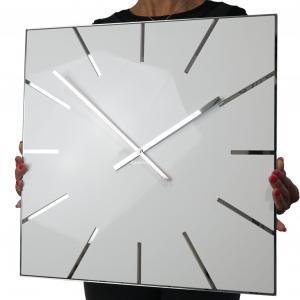 Nástenné hodiny Exact Flex z119-2-0-x, 50 cm, biele