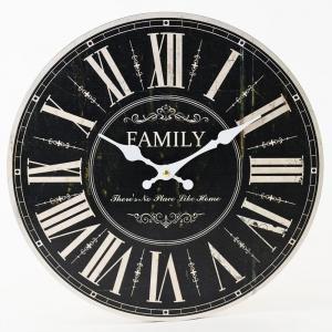 Nástenné hodiny, Flor0153, Family, 34cm