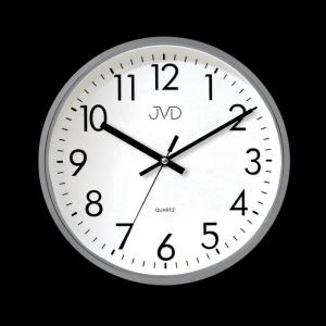 Nástenné hodiny JVD HA43.2, šedé, 33cm