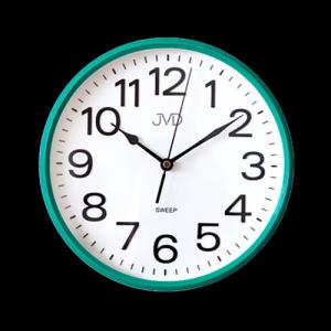 Nástenné hodiny JVD HP683,4 zelené, sweep