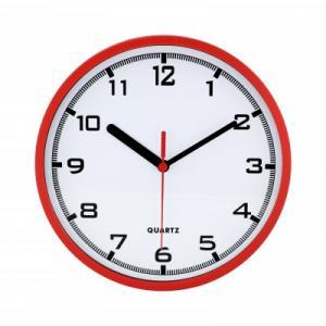Nástenné hodiny MPM, 2477.20 - červená, 20cm