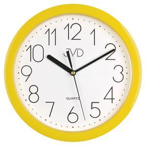 Nástenné hodiny quartz žlté Time hp612.12 25cm
