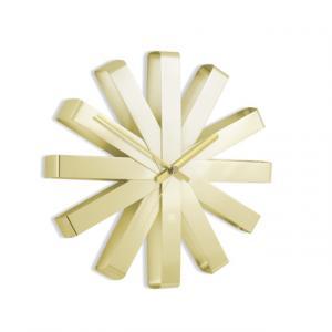 Nástěnné hodiny Umbra RIBBON - zlaté