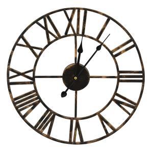 Nástenné hodiny Vintage, kovové, FAL168A 40cm