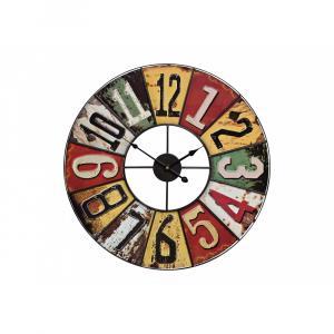 Nástenné hodiny Vintage Rund, kovové, WUR7905, 58cm