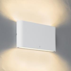 Nástenné svietidlo biele 17,5 cm vrátane LED IP65 - bat