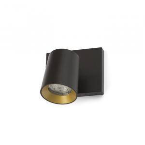 Nástenné svietidlo RENDL RED KENNY I čierna/zlatá R12914