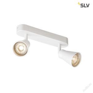 Nástenné svietidlo SLV AVO DOUBLEQPAR51, bílé 1000890