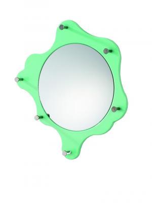 Nástenné zrkadlo Avenus, svetlozelená