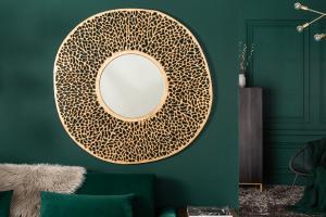 Nástenné zrkadlo Lance L 112 cm zlaté