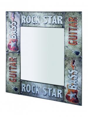 Nástenné zrkadlo Rock Star, 74 cm