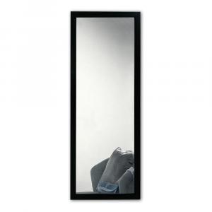 Nástenné zrkadlo s čiernym rámom Oyo Concept, 40 x 105 cm