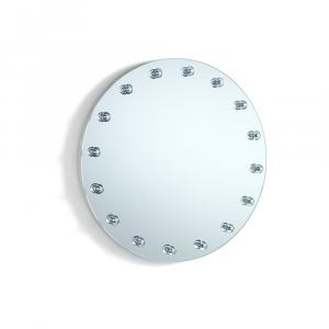 Nástenné zrkadlo s osvetlením Tomasucci Afrodite, ø 50 cm