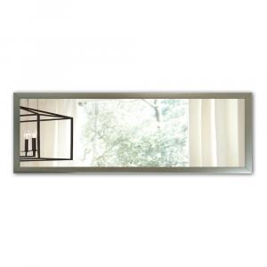 Nástenné zrkadlo s rámom v striebornej farbe Oyo Concept, 105 x 40 cm