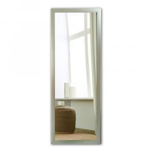 Nástenné zrkadlo s rámom v striebornej farbe Oyo Concept, 40 x 105 cm