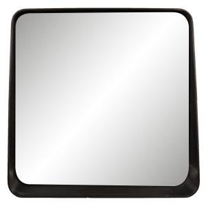 Nástenné zrkadlo v čiernom ráme - 53 * 10 * 51 cm