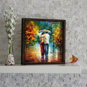 Nástenný obraz Fall Walk, 34 × 34 cm