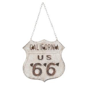 Nástenný plechový vešiak California - 27 * 3 * 27 cm