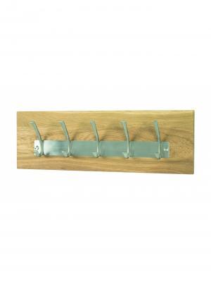 Nástenný vešiak s 5 háčikmi Vance, 20 cm
