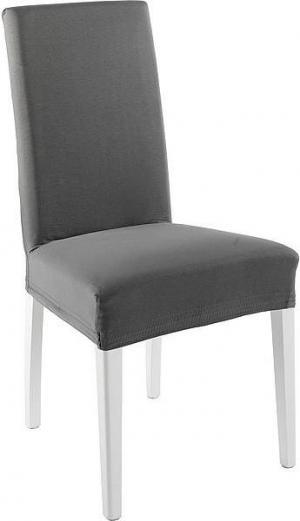 Návlek na stoličku BOSTON Farba: tmavo-šedá