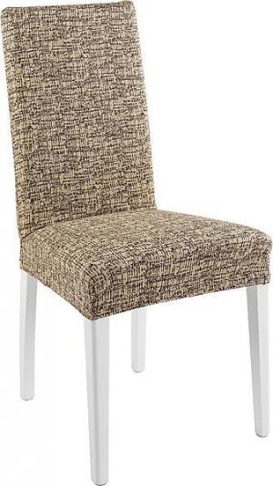 Návlek na stoličku CYPRUS Farba: béžovo-hnedá