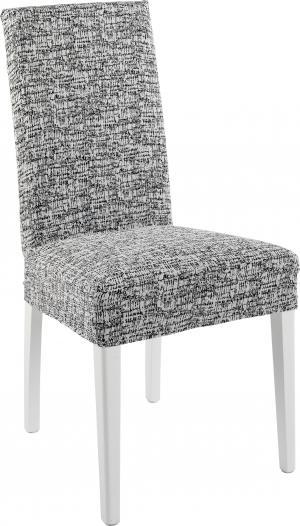 Návlek na stoličku CYPRUS Farba: bielo-čierna