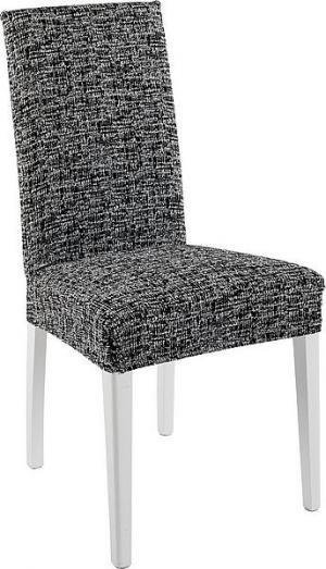 Návlek na stoličku CYPRUS Farba: čierno-biela