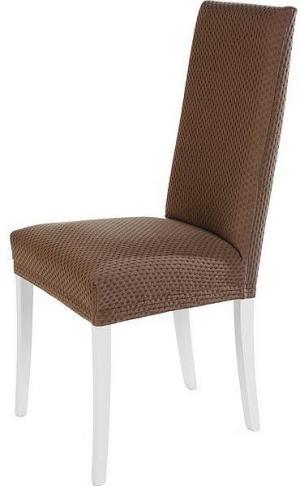 Návlek na stoličku NATALI Farba: bledo-hnedá