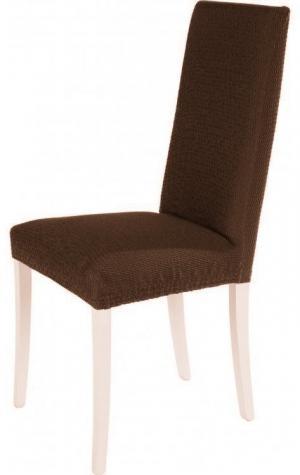 Návlek na stoličku TIMEA Farba: Hnedá