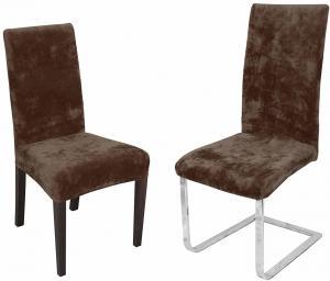 Návlek na stoličku ZUZANA Farba: Hnedá