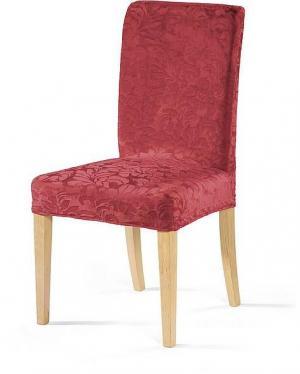 Návlek na stoličku ZUZANA ORNAMENT Farba: Bordová