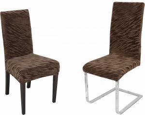 Návlek na stoličku ZUZANA TIGER Farba: Hnedá