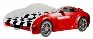 Nellys Detská posteľ Super Car - červená Rozměry: 140x70