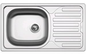 Nerezový drez Sinks Classic 760 V, matný