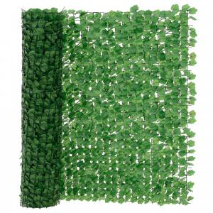 [neu.haus]® Drôtený plot s lístkami - 150 x 300 cm