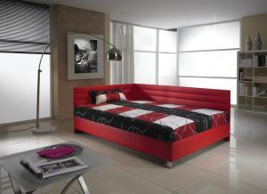 New Design Čalúnená posteľ ELITE 140 x 200 cm Prevedenie: pravé