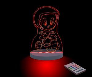 Nočná lampa Tweety Moto