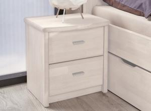 Nočný stolík David, bielený buk
