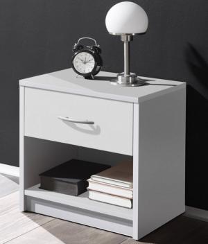 Nočný stolík Pepe, biely
