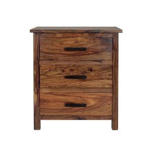 Nočný stolík Rami 45x60x40 indický masív palisander - Only stain