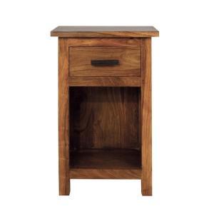 Nočný stolík Rami 45x60x40 indický palisander - Only stain
