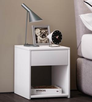 Nočný stolík Sledo Mini, biely