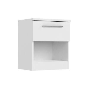 Nočný stolík SURREY biely