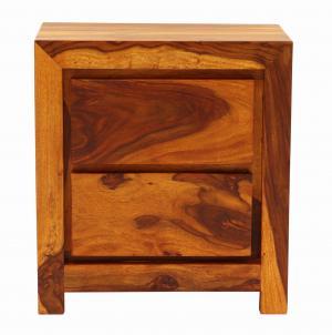 Nočný stolík Tara 45x60x40 indický masív palisander - Natural